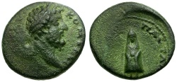 Ancient Coins - Commodus. Thrace. Pautalia Æ18 / Telesphorus