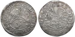 Ancient Coins - Germany. House of Habsburg. Rudolph II AR Weissgroschen