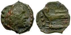 Ancient Coins - 86 BC - Roman Republic. Anonymous AE Quadrans