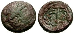 Ancient Coins - Thessaly, Larissa-Kremaste Æ Chalkous / Harpa