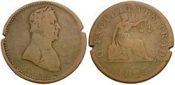 World Coins - Canada. Lower Canada Æ Halfpenny Token