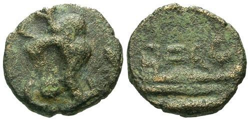 Ancient Coins - F/F Phoenicia Berytus / Rare Colonial Issue