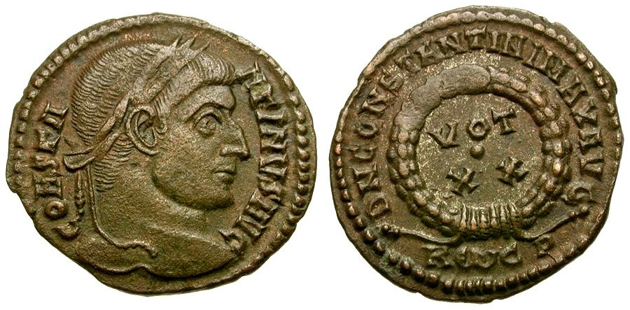 Ancient Coins - Constantine I the Great Æ3 / Eros