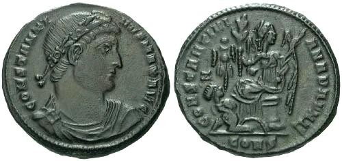Ancient Coins - EF/EF Constantine the Great / DAFNE  R5