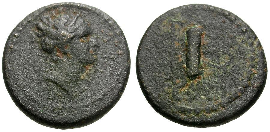 Ancient Coins - Lydia.  Hierocaesarea Æ15 / Artemis and Quiver