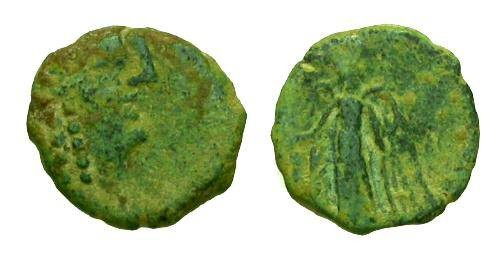 Ancient Coins - F/gF Kings of Nabataea Aretas IV AE / Nike
