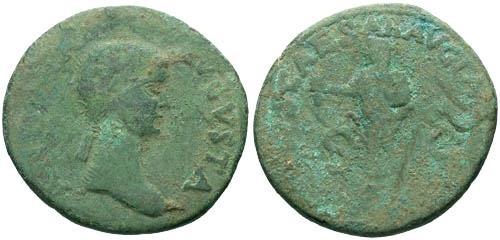 Ancient Coins - F/F Antonia Dupondis
