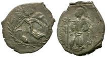 Ancient Coins - Sicily.  Kamarina AR Litra / Athena