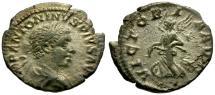 Ancient Coins - gF/gF Elagabalus AR Denarius / Victory