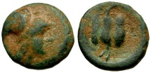 Ancient Coins - Pamphylia. Side Æ17 / Pomegranate