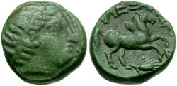 Ancient Coins - Kings of Macedon. Alexander III the Great Æ 1/2 Unit / Horse