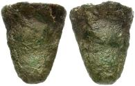 Ancient Coins - Sicily. Akragas. Cast Tooth Æ Hexas