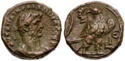 Ancient Coins - Gallienus. Egypt. Alexandria Billon Tetradrachm / Eagle