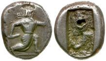 Ancient Coins - Persia. Achaemenid Empire. Artaxerxes II to Artaxerxes III AR Siglos