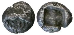 Ancient Coins - Ionia. Ephesos AR Drachm / Bee Crawling