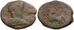 Ancient Coins - Elagabalus. Decapolis. Hippos-Sussita Æ27 / Pegasus
