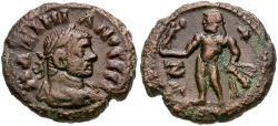 Ancient Coins - Maximian, first reign (AD 286-305) Egypt. Alexandria Æ Tetradrachm / Herakles