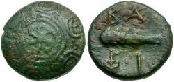 Ancient Coins - Kings of Macedon. Philip V Æ17 / Shield / Club