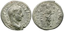 Ancient Coins - Severus Alexander (AD 222-235) AR Denarius / Fides