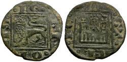World Coins - Spain. Castile and Leon. Alfonso X el Sabio Billon Noven