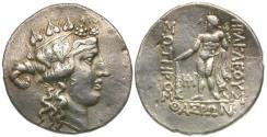 Ancient Coins - Thasos AR Tetradrachm / Herakles