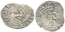 Ancient Coins - Hungary. Maria (1382-1395) AR Denarius