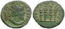 Ancient Coins - Postumus (AD 260-268) BI Antoninianus / Standards