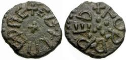 World Coins - Anglo-Saxon. Kings of Northumbria. Æthelred II, first reign (841-844). Fordred, moneyer Æ Styca