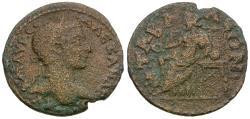 Ancient Coins - Severus Alexander (AD 222-235). Lydia. Tabala Æ22