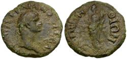 Ancient Coins - Domitian. Thrace. Perinthus Æ21 / Dionysos