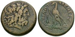 Ancient Coins - Ptolemaic Kings of Egypt. Ptolemy IV Philopator (285-246 BC) Æ Hemidrachm