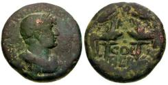 Ancient Coins - VF/VF Hadrian Phoenicia Berytus Æ22 / COL BER