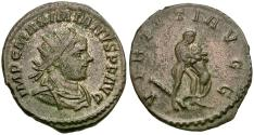 Ancient Coins - Maximian, first reign (AD 286-305) Silvered Æ Antoninianus / Hercules Strangling Lion