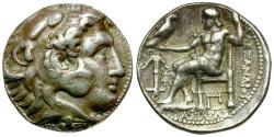 Ancient Coins - Seleukid Kings. Seleukos I Nikator (312-281 BC) AR Tetradrachm