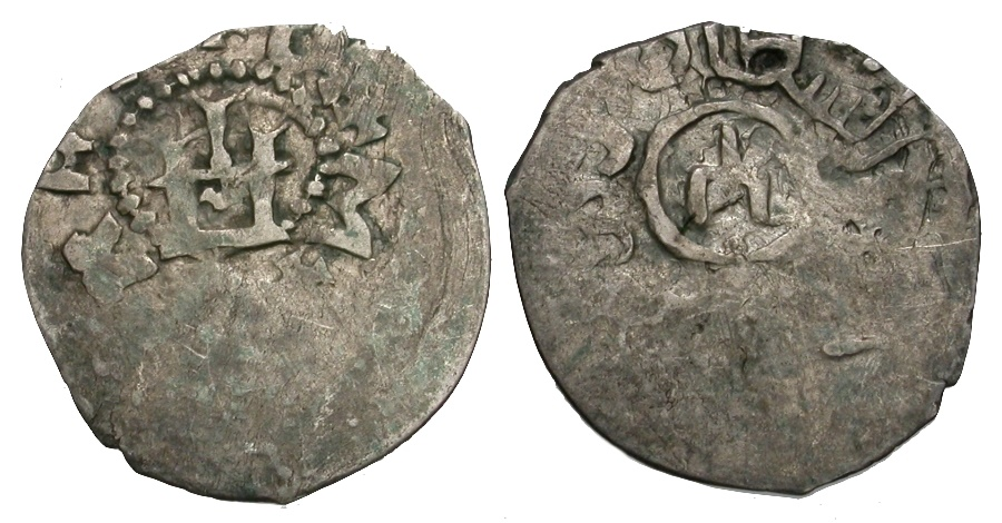 World Coins - Russia. Krim. Genoese-Tatar. Genoese Merchants of Kaffa in the Crimea. Filippo Maria Visconti of Milan AR Asper