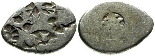 Ancient Coins - VF/VF Ancient India Silver Punchmark Coinage