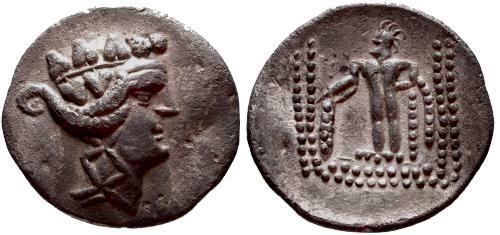 Ancient Coins - EF/EF Thasos Tetradrachm Artistic Celtic copy