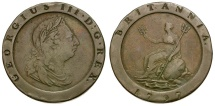 World Coins - Great Britain. George III Cartwheel Twopence