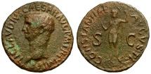 Ancient Coins - Claudius Æ AS / Constantia