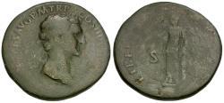 Ancient Coins - Nerva (AD 96-98) Æ Sestertius / Libertas