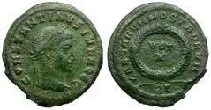 Ancient Coins - Constantine II as Caesar  Æ3 / Votive