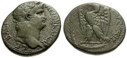 Ancient Coins - gF+/gF Nero, Seleucis and Pieria, Syria Antioch AR Tetradrachm / Eagle