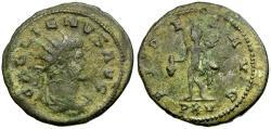 Ancient Coins - Gallienus Silvered Antoninianus / Mercury