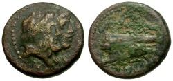 Ancient Coins - Phoenicia. Arados Æ16 / Zeus & Hera