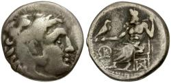 Ancient Coins - Kings of Macedon. Antigonos I Monophthalmos as Satrap of Asia in the Name of Alexander III the Great AR Drachm