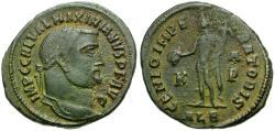Ancient Coins - Galerius Æ Follis / Genius