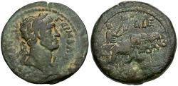 Ancient Coins - Hadrian. Egypt. Alexandria Æ Drachm / Elephant Quadriga