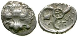 Ancient Coins - Dynasts of Lycia. Vekhssere II 1/3 AR Stater / Triskeles