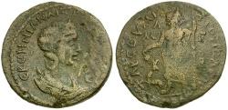 Ancient Coins - Herennia Etruscilla. Cilicia. Tarsos Æ29 / Dionysos