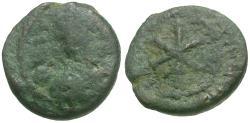 Ancient Coins - *Sear 283* Justinian I (AD 527-565) Æ Nummus